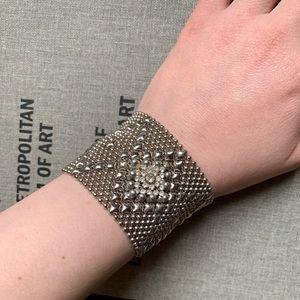 Jewelry - Sergio Gutierrez chain and rhinestone bracelet